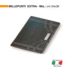 "Zerbino in Gomma ""MILLEPUNTI EXTRA"" Made in Italy"